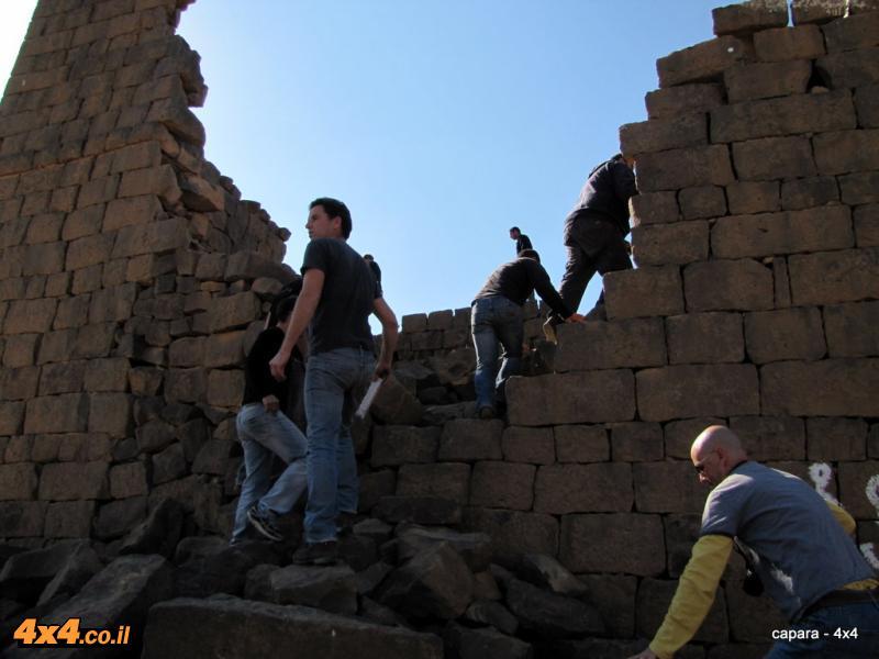 ביקור במצודה הרומית של קצר בורקו