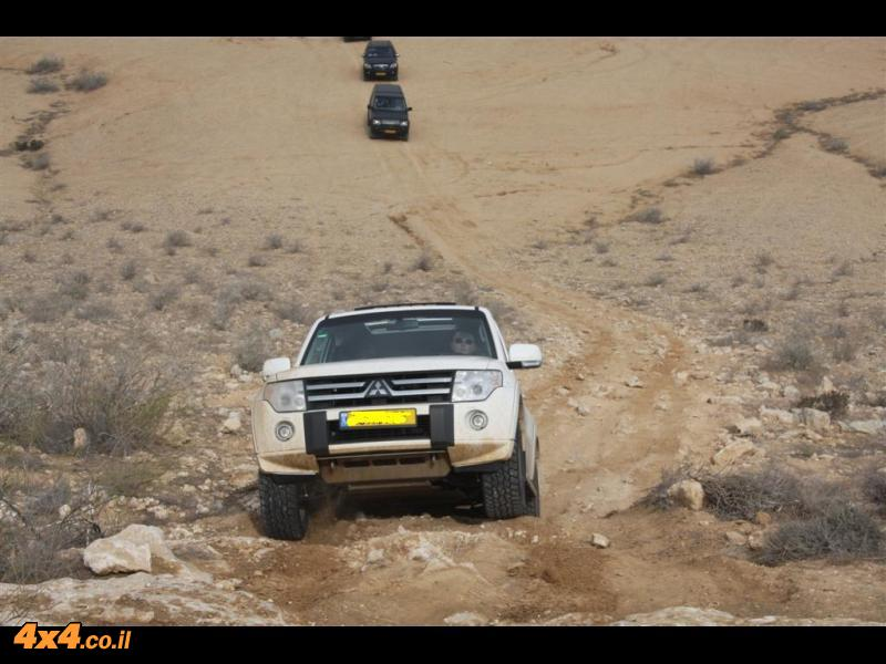 שישי אתגרי - מאשלים לשדה בוקר 11 פברואר 2011 מדריך: וייזל עדי