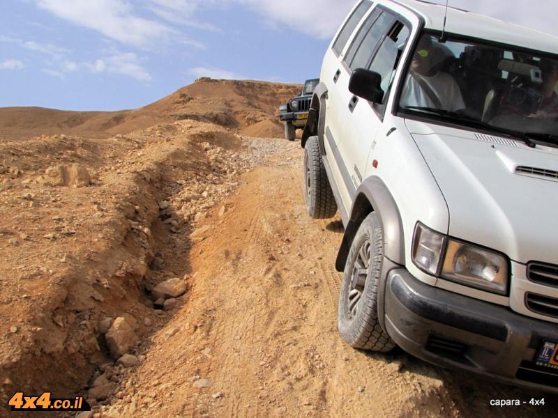 לא צריך עלייה / ירידה רצינית כדי לבדוק את המתלים של הרכב