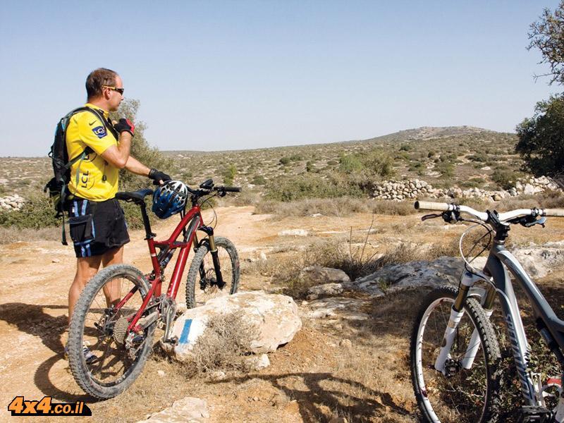 טיולי אופניים - מסע אל תלים ובורות בשפלה הדרומית