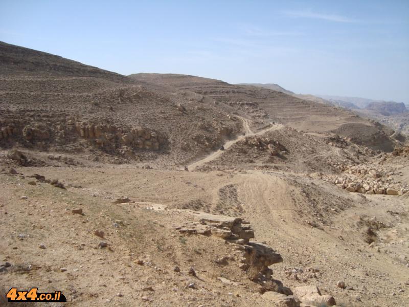 מסע אופנועים וטרקטורונים במדבר הדרומי של ירדן - מרץ 2011