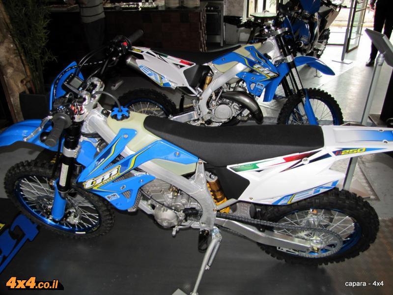 אופנועי השטח של TM בישראל