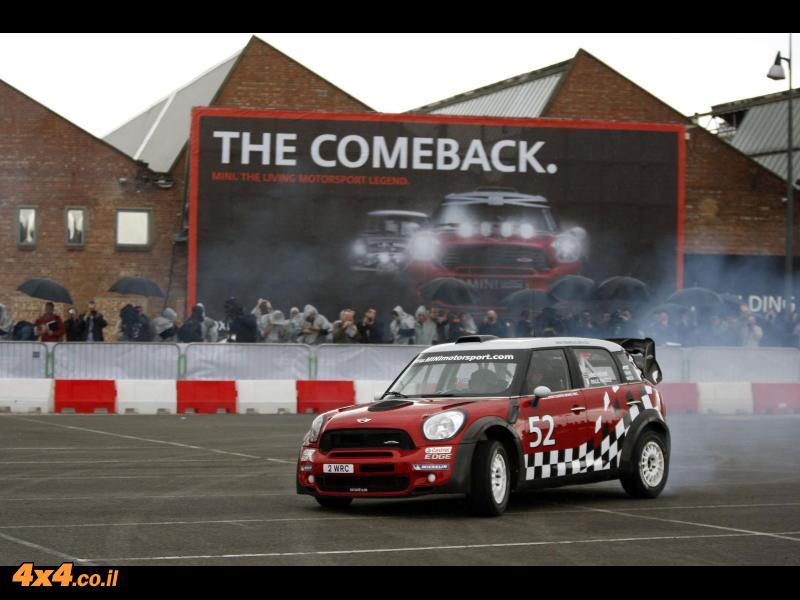 המיני תתחרה שוב ב-WRC