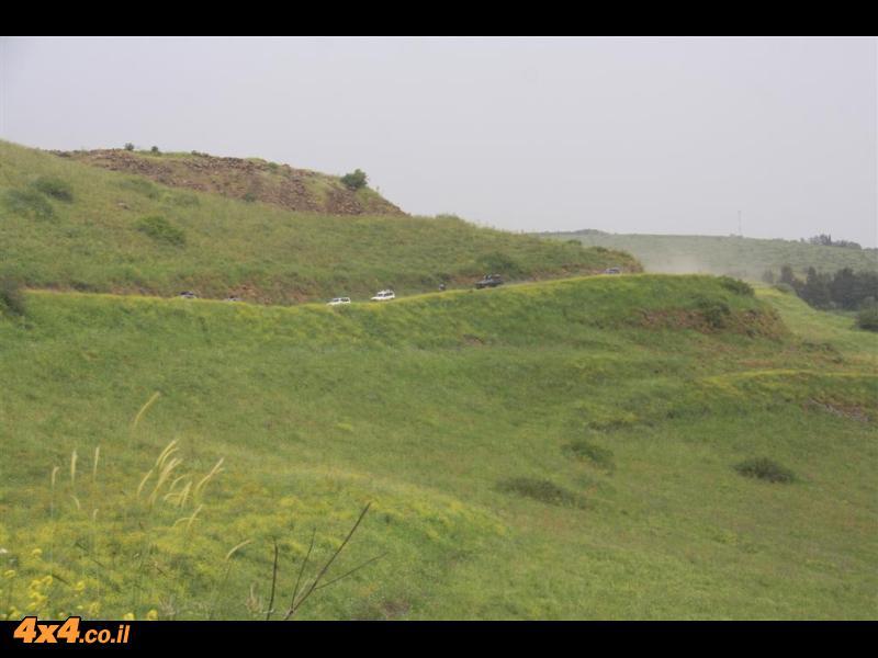 מהבניאס,דרך עמק החולה , לירדן ההררי