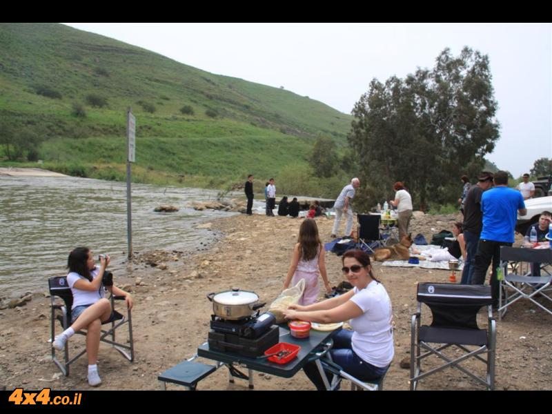 מהירדן ההררי לצפון הכנרת אזור פארק הירדן