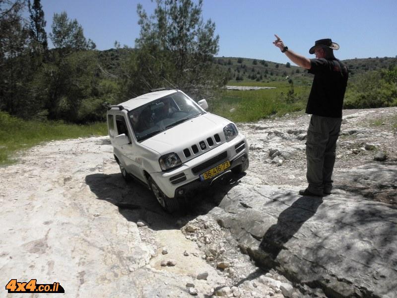 הדרכת נהיגה בשטח טרשי - 15.4.11- הר חורשן - סיכום