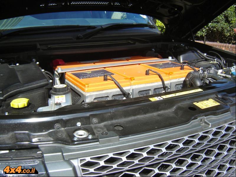 תא המנוע - בלי מנוע...