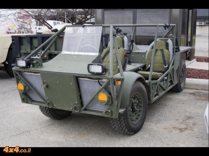 רכב סיור היברידי (CERV) הנבדק כעת על ידי צבא ארה''ב