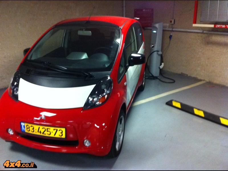 רכב חשמלי בישראל - מיצובישי חשמלי כאן בארץ