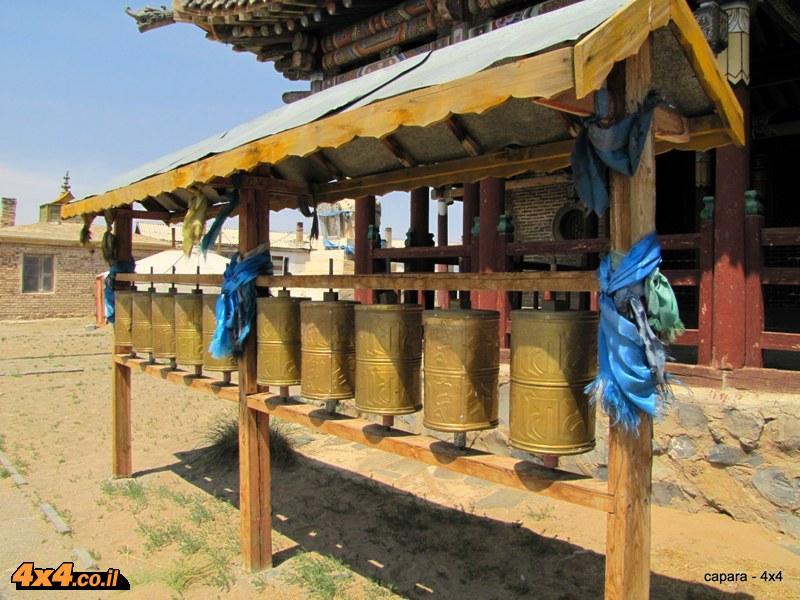 מבקרים במנזר נוסף בדרכנו לאולן באטר