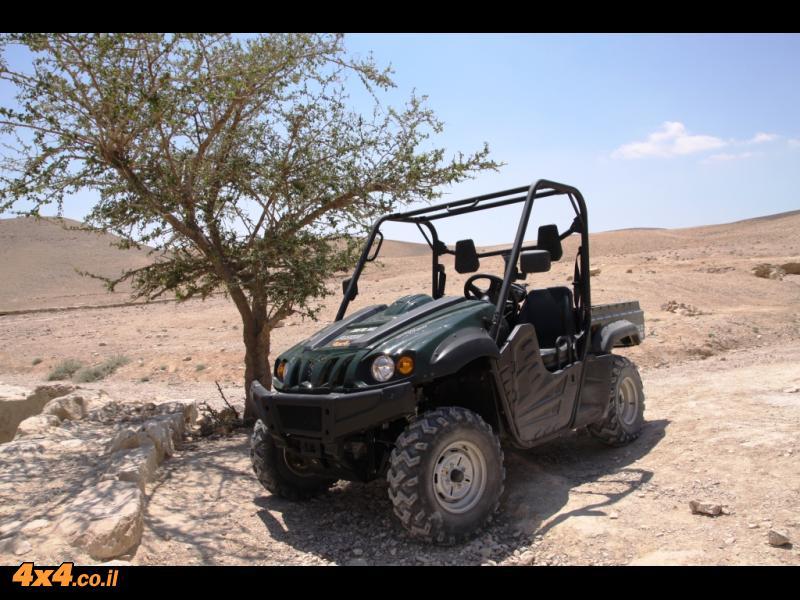 על הדרך - מבחן דרכים קצר - הייסאן HISUN UTV 700