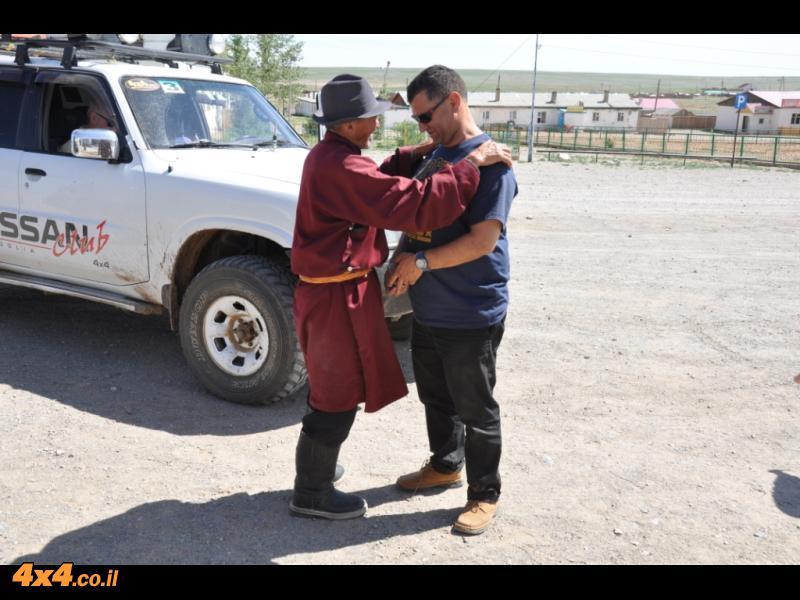 תמונות היום הראשון: החשיפה למונגוליה