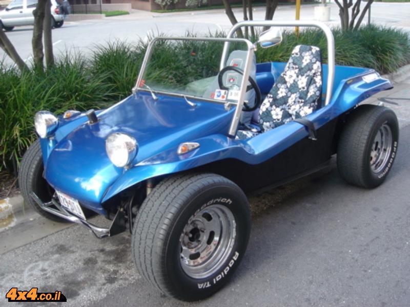 באגי על בסיס חיפושית משנות ה-60, מרכב פיבר של ברוס מאיירס