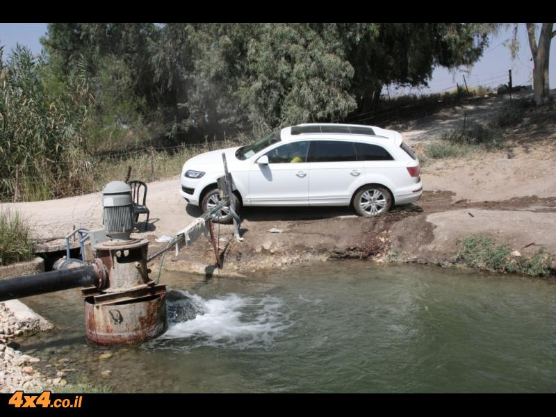 מים חופשיים בעמק של מעיינות