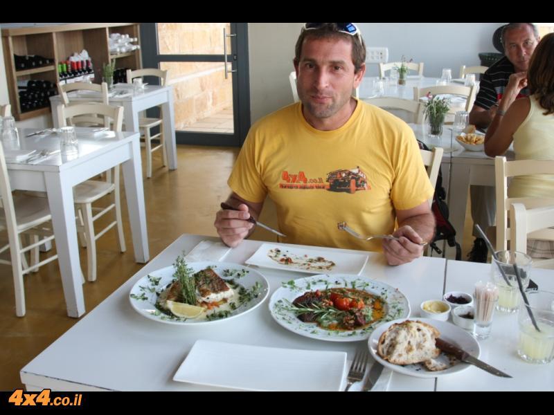 במסעדת קימל בגלבוע