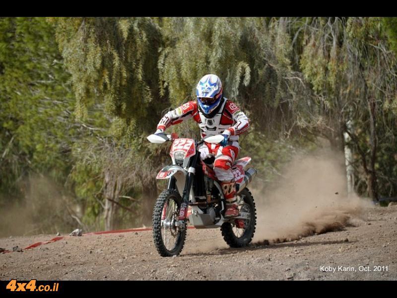 יוני לוי - הרוכב הכי מהיר במרוץ