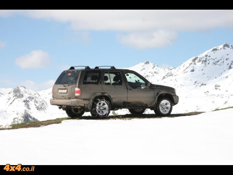 שלג, בוץ וקרח - טיפ נהיגה
