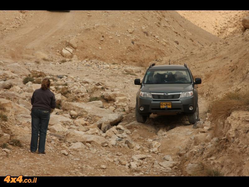 מעברים טכניים במדבר יהודה