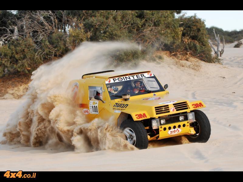 נבחרת פוינטר יוצאת ל ''ראלי דקאר 2012''