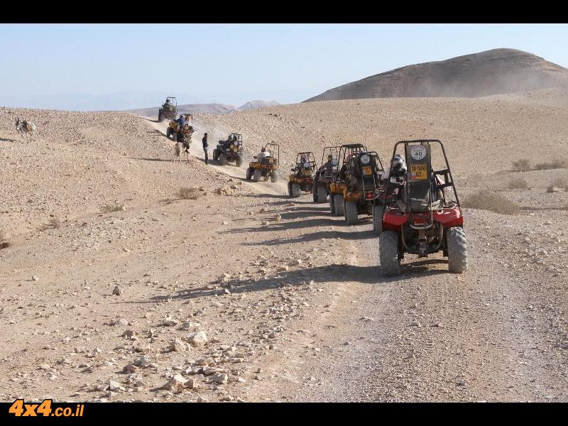 טרקטורוני CANAM בספר המדבר - דרום מדבר יהודה