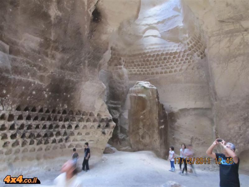 מתל צפית דרך מערות לוזית לחרבת בית לויה