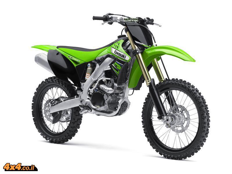 אופנועי מוטוקרוס מבית קוואסאקי