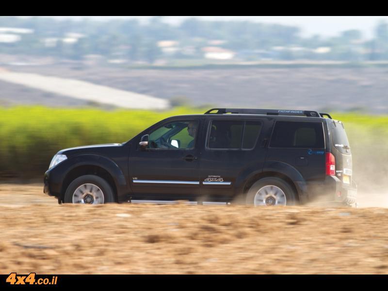 מבחן דרכים: ניסאן פאת'פיינדר Nissan Pathfinder