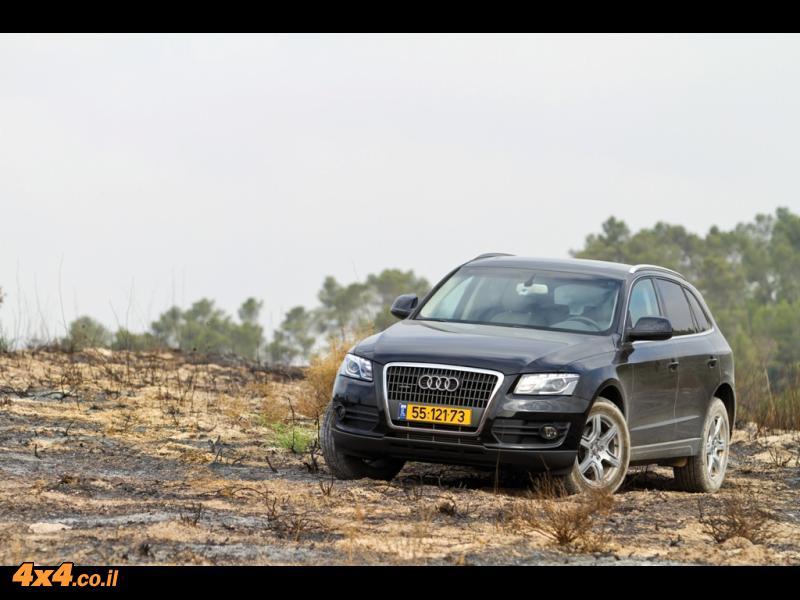 מבחן דרכים: אאודי Audi Q5