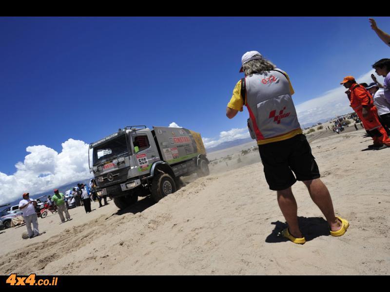 דקאר 2012: צוות פוינטר-נגב עולה בדרוג הכללי למקום ה-42