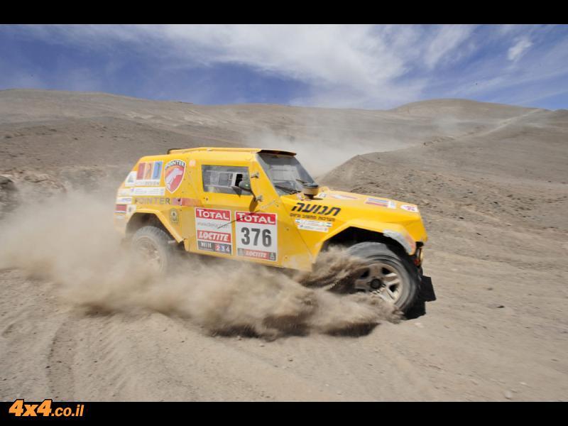 דקאר 2012 - ''קדימה ללימה!!!'' - צוות פוינטר-נגב שועט צפונה ועולה בדרוג הכללי למקום ה-33