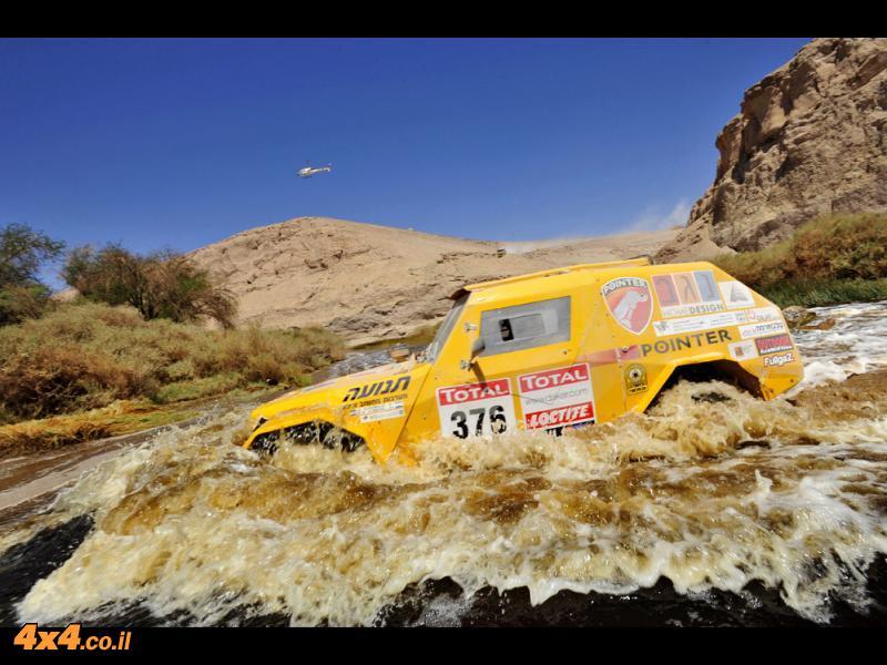דקאר 2012: יום ארוך עבור צוות פוינטר-נגב, ובסיומו רז והלל מטפסים למקום ה-32 בדרוג הכללי