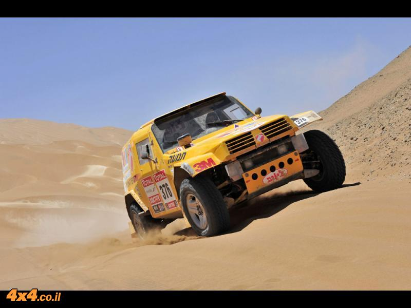 דקאר 2012: יום קשה ובסיומו צוות פוינטר-נגב עולה בדרוג הכללי למקום ה-27