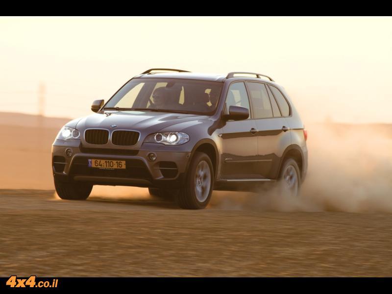 מבחן דרכים: ב.מ.וו - BMW X5