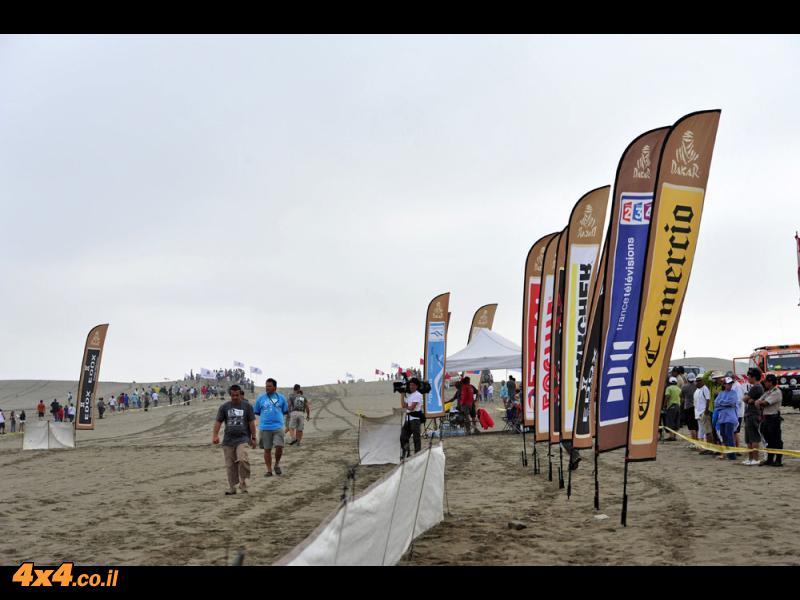 דקאר 2012: צוות פוינטר-נגב מסיים את דקאר 2012 במקום הראשון מבין המתחרים בדקאר לראשונה