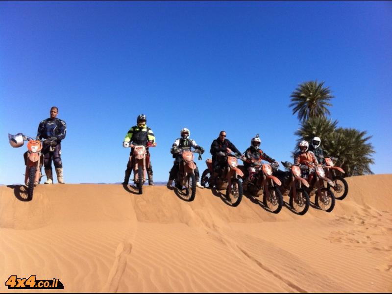 היום הרביעי לרכיבה - בדרכים של הפריס-דקאר למדבר הסהרה