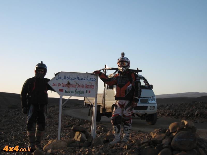היום השישי: ממדבר הסהרה עולים צפונה ללב הרי האטלס עד לואזאזת