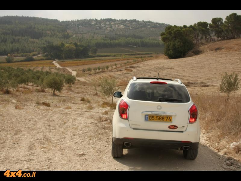 צולם בשטח של הרי ירושלים: