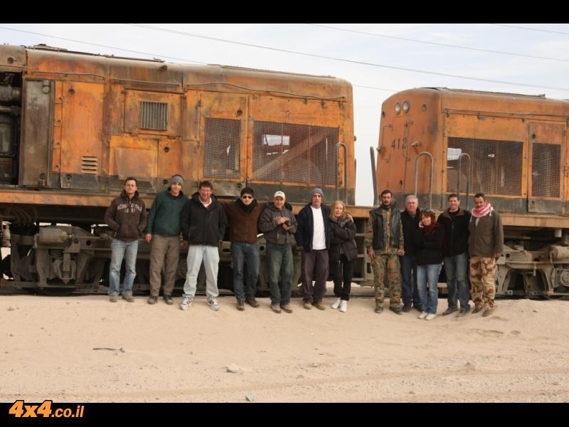 ביום השני - לאורך הרכבת החיג'אזית