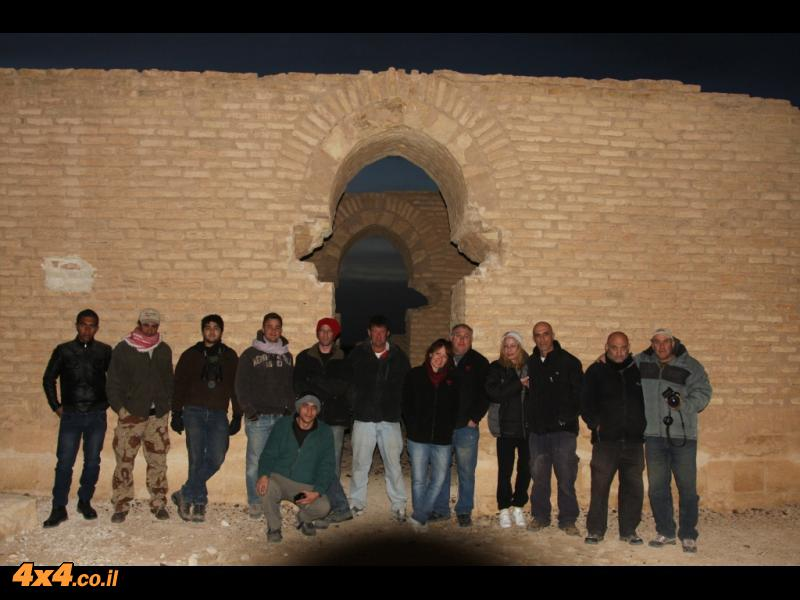 בסיום היום השני - במצודת טובא