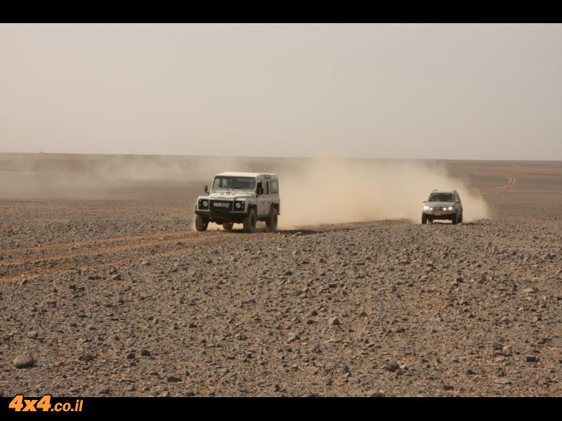 ביום השני - מישורי חמדה אין סופיים בדרך לגבול עם ערב הסעודית