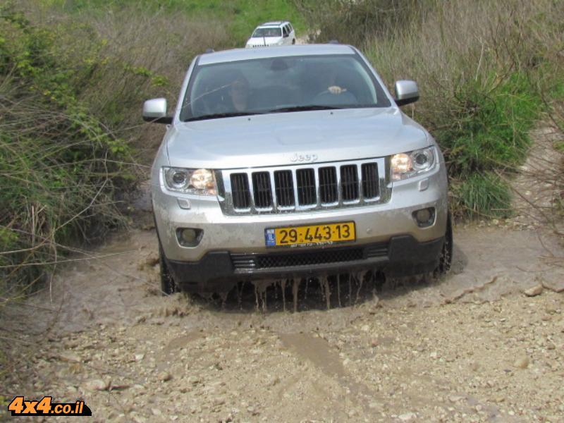 מסע מועדון Jeep לרמות מנשה - מרץ 2012