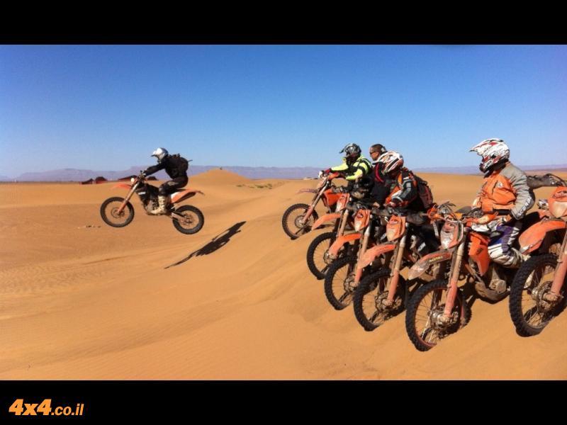 מרוקו - מסע אופנועי שטח להרי האטלס ומדבר הסהרה