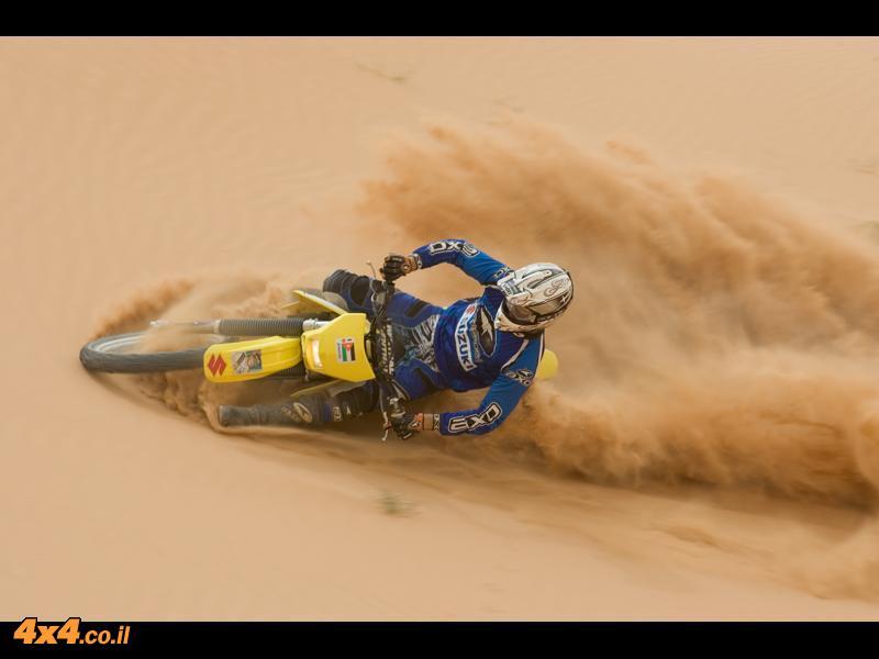ירדן - מסע אופנועים באישור מיוחד