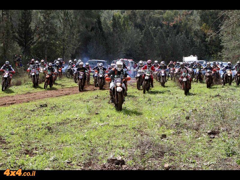 ליגת אופנועי האנדורו סבב מס' 6 תרקומיא – מחממים את הגזרה