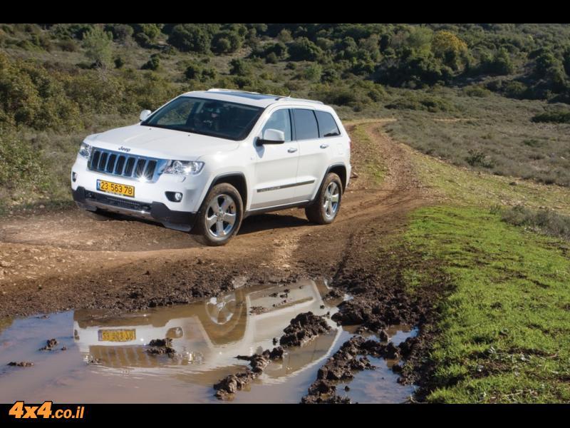 ג'יפ גראנד צ'רוקי - Jeep Grand Cheroki - מבחן דרכים