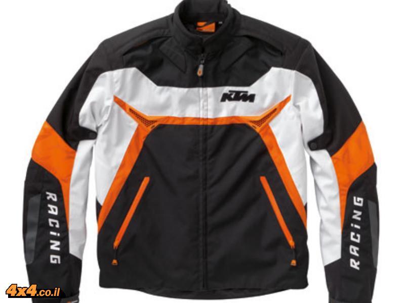 מעיל כביש ומגן חזה בפולאריס - KTM