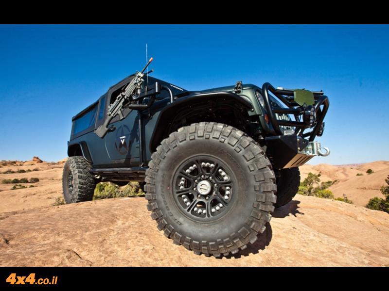 רכב השטח שאף פעם לא יהיה לנו – JK8 Recon