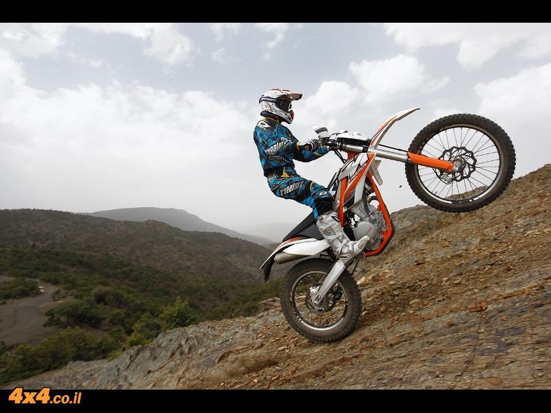 ק.ט.מ KTM FreeRide 350 בהשקה עולמית