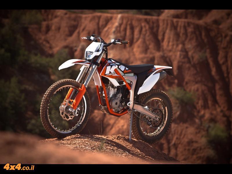 אופנוע ק.ט.מ KTM FreeRide 350 בהשקה עולמית
