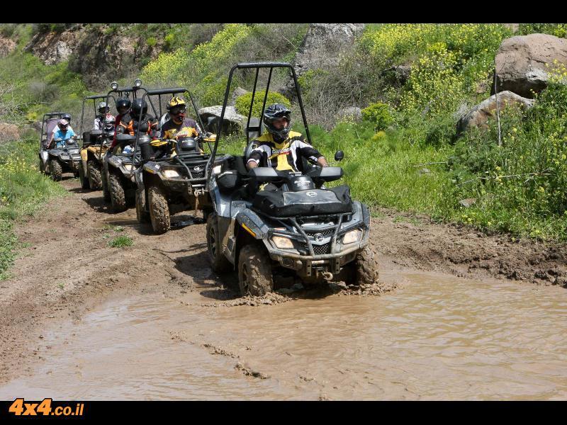 טיול טרקטורונים – מועדון BRP למרכז רמת הגולן - יומן מסע
